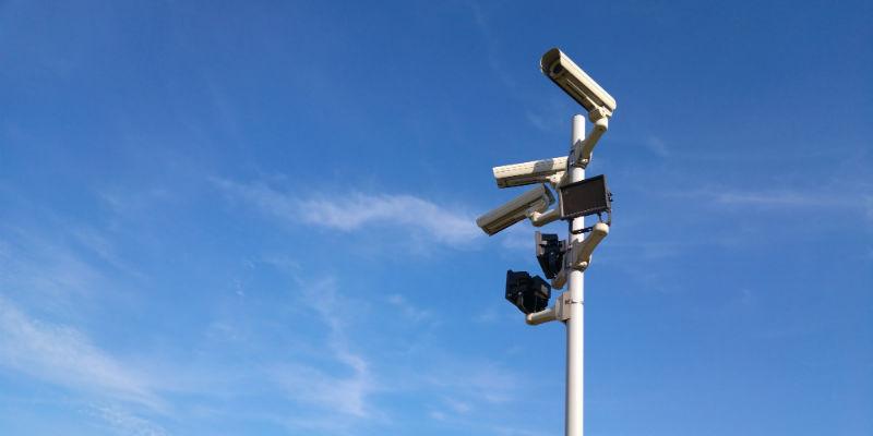 Conventional security cameras