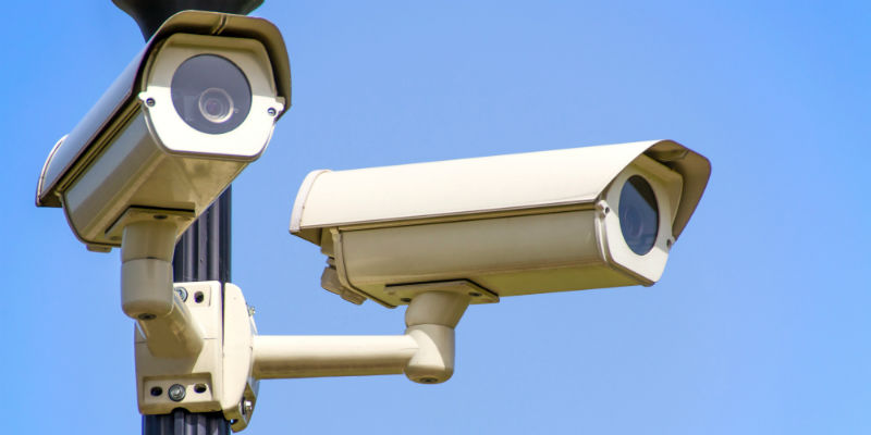 An out-of-date conventional CCTV system